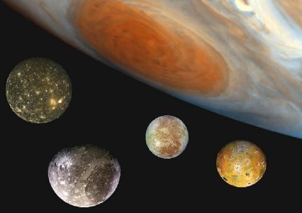 Viaggio nel sistema solare: le lune di Giove