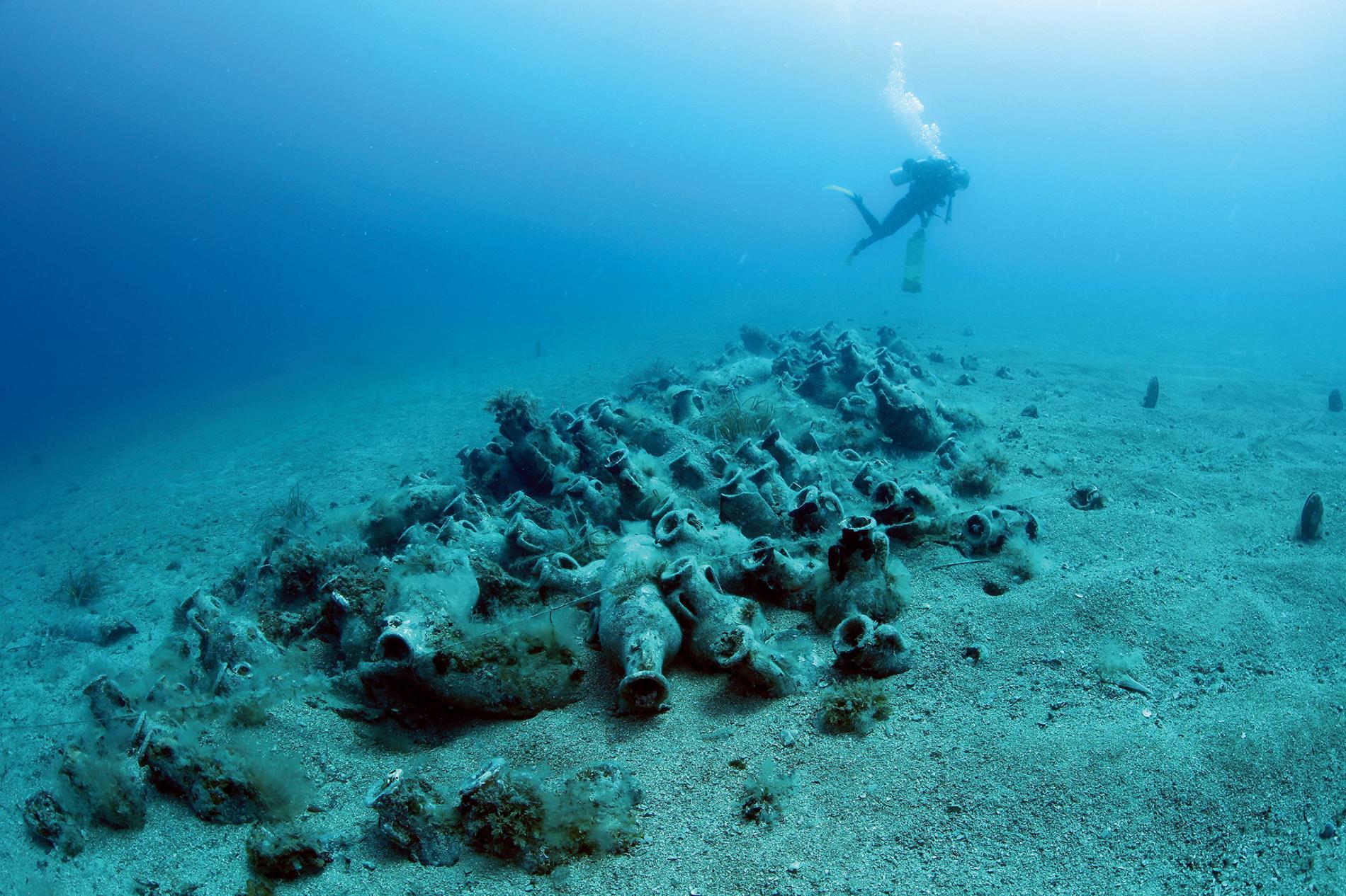 Scoperti numerosi relitti nelle acque della penisola di Karaburun in Albania