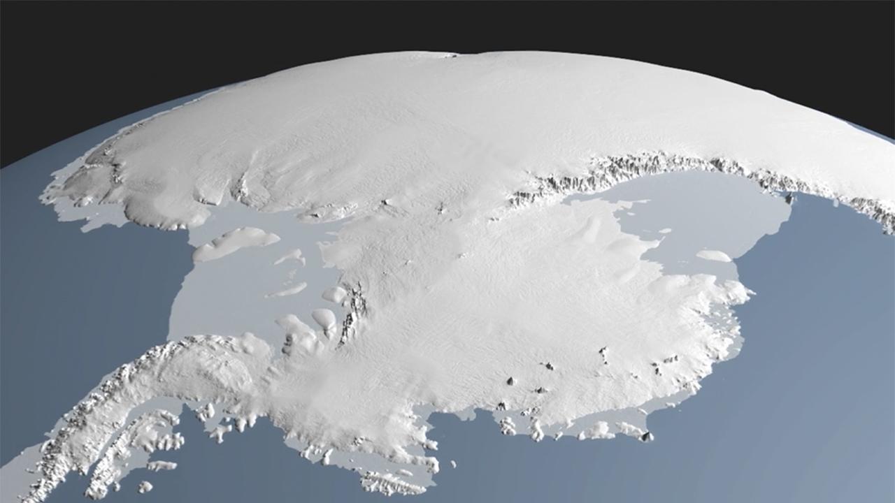 Terra Antartica: la scoperta di un antico continente dallo spazio