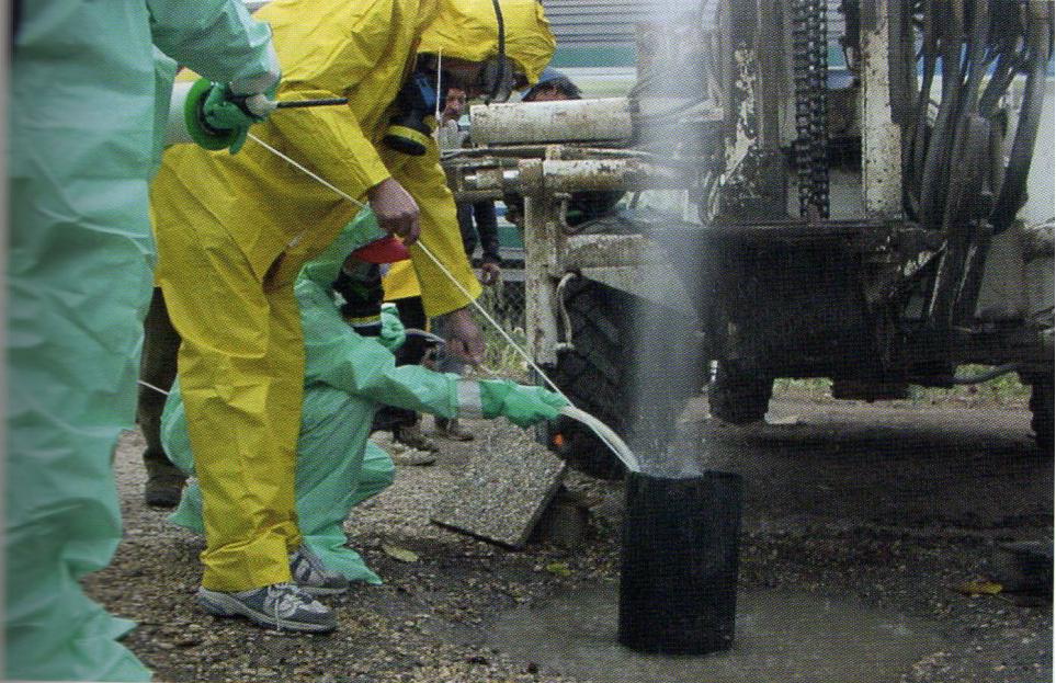 Emissioni di gas dal terreno ... cosa fare? - Istituto Nazionale Geofisica e Vulcanologia