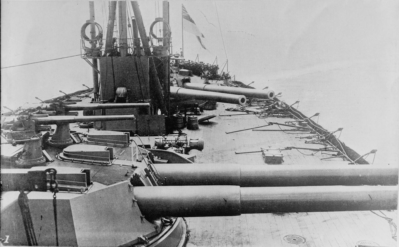 La fine delle corazzate pluri-calibro e la nascita delle Dreadnought