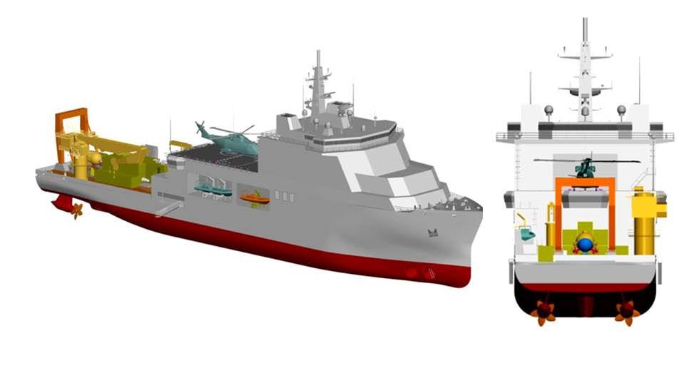 Forse ci siamo: è stata annunciata la nuova unità di supporto e salvataggio sommergibili della Marina Militare italiana di Andrea Mucedola
