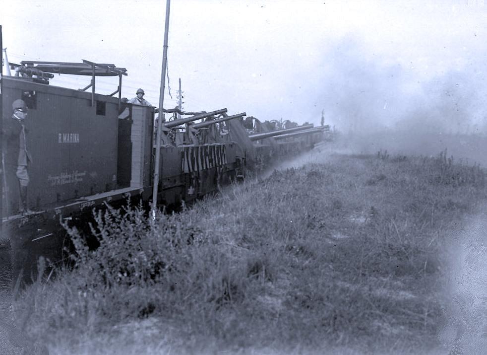 I treni armati della Regia Marina italiana nella prima guerra mondiale di Virginio Trucco