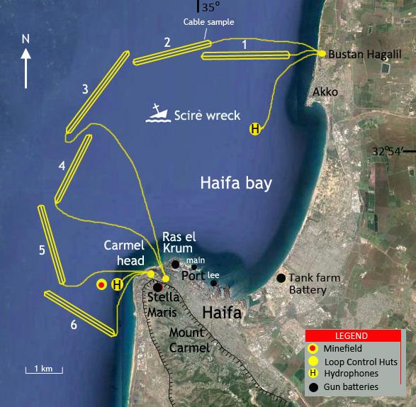 Questa immagine ha l'attributo alt vuoto; il nome del file è 6_Haifa_WWII_Defences_and_Scire_wreck.jpg