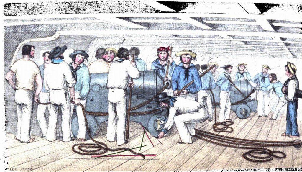 I sistemi di punteria dell'artiglieria navale tra la fine del Settecento e la prima metà dell'Ottocento di Aldo Antonicelli