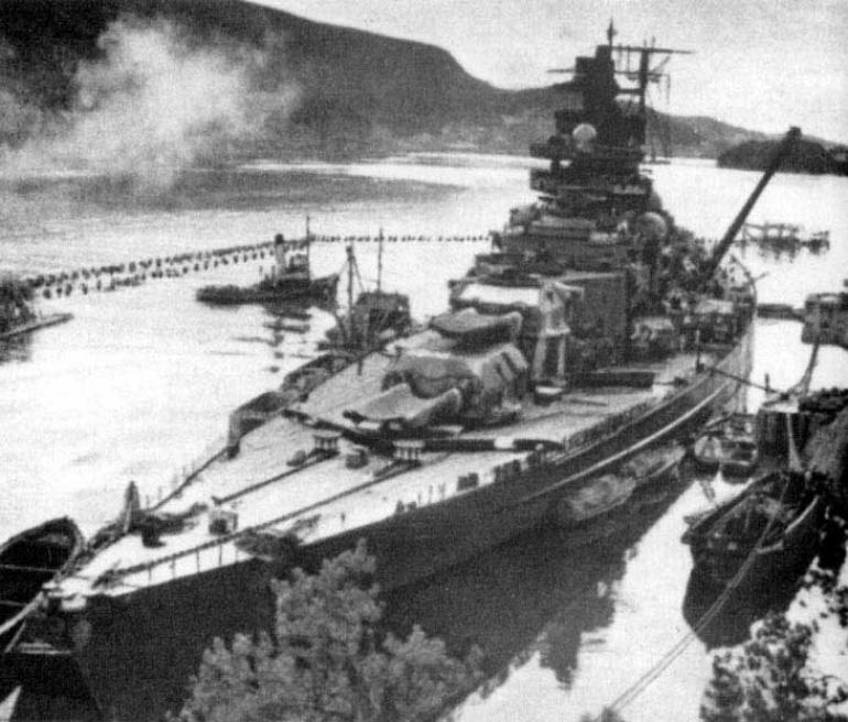 Il tentativo di attacco dei chariot alla nave da battaglia tedesca Tirpitz di Andrea Mucedola