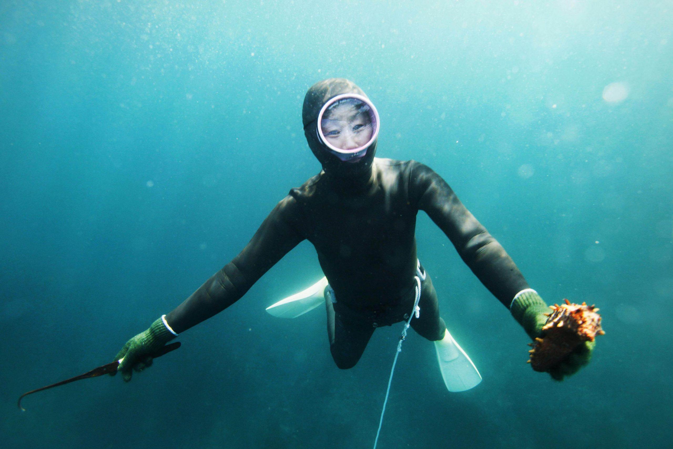 Miti e tradizioni: Ama, donne del mare