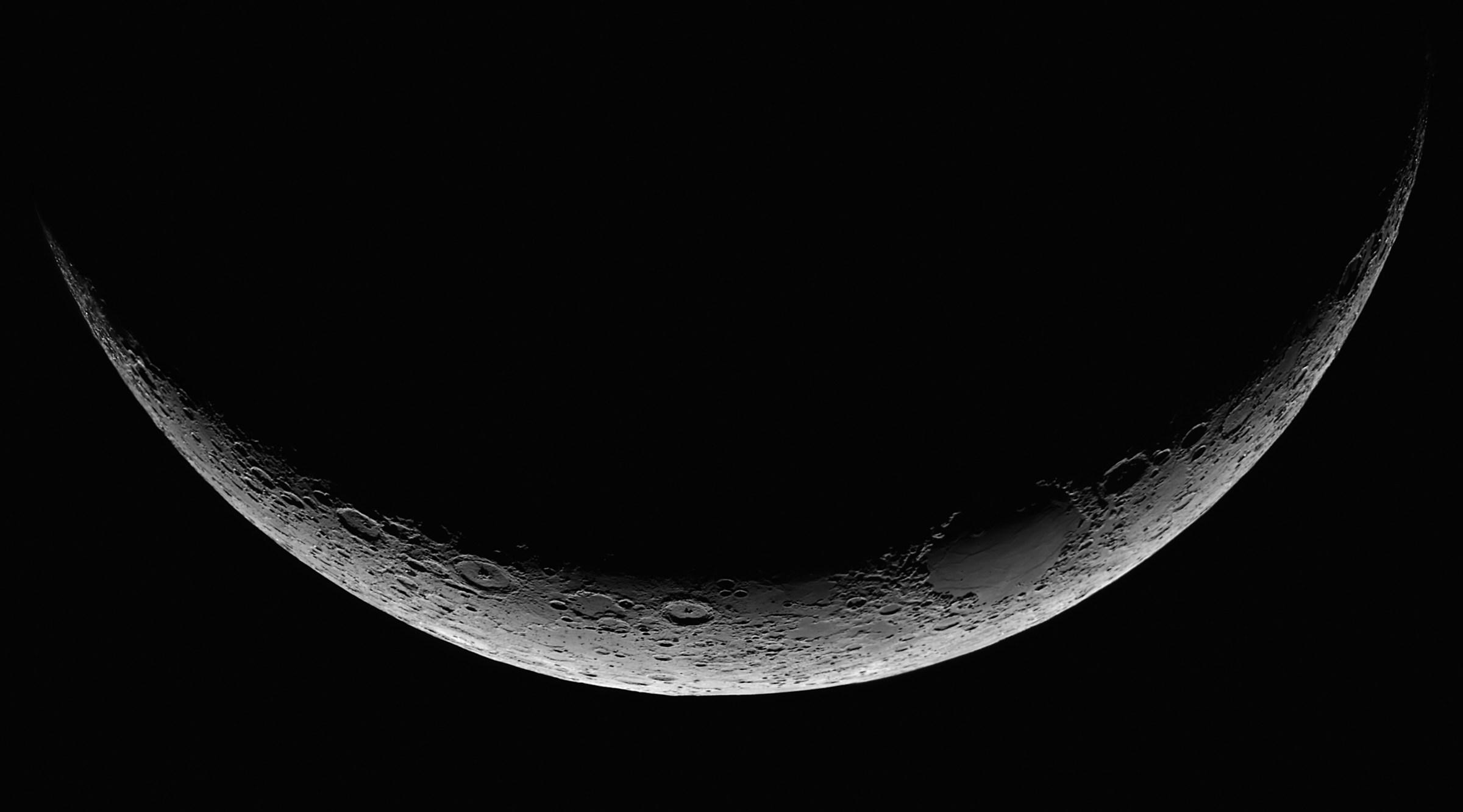 """La luna ... """"a barchetta"""" di Paolo Giannetti"""