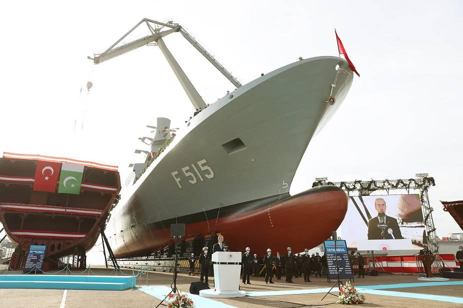 Questa immagine ha l'attributo alt vuoto; il nome del file è Turkey_launches_its_first_Istanbul-class_F_515_frigate_built_for_Turkish_Navy_925_001.jpg