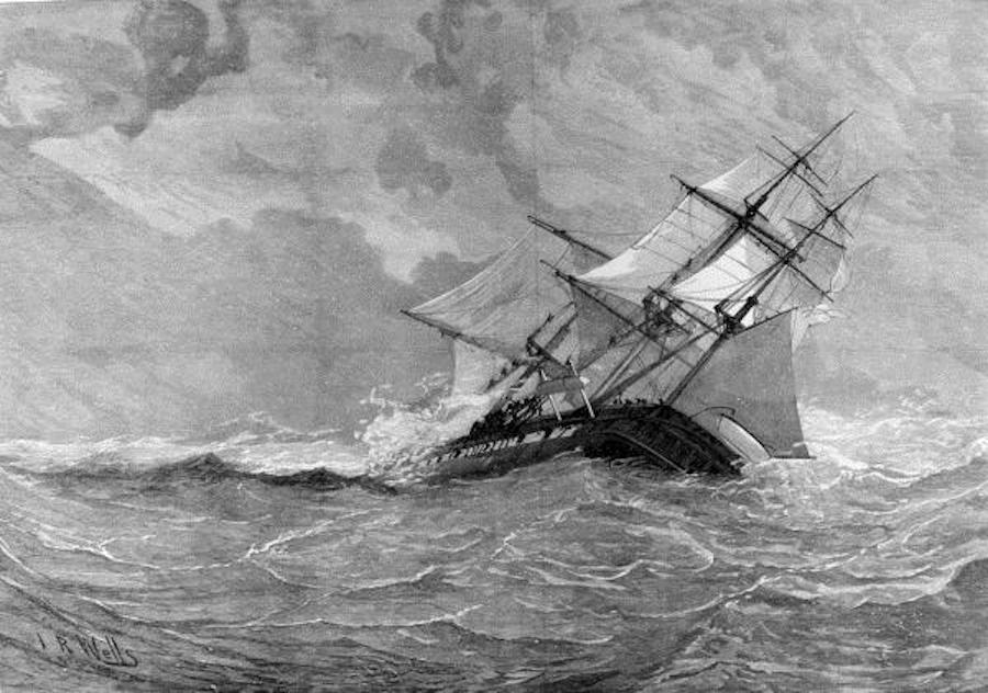Questa immagine ha l'attributo alt vuoto; il nome del file è Loss_of_HMS_Eurydice.jpeg
