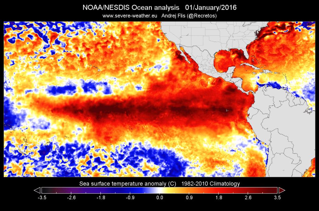 Questa immagine ha l'attributo alt vuoto; il nome del file è el-nino-2015-ocean-temperature-anomaly-pacific-ocean-1024x679.png