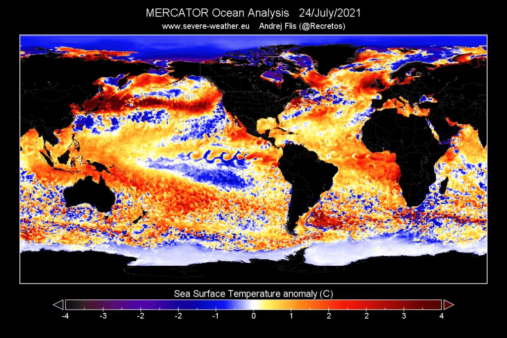 Questa immagine ha l'attributo alt vuoto; il nome del file è global-ocean-temperature-anomaly-analysis-july-2021-1024x683.png