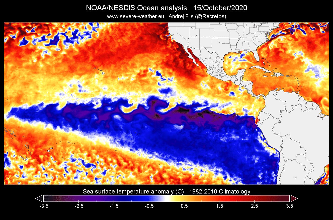L'influenza della Nina 2021-2022 sul tempo mondiale