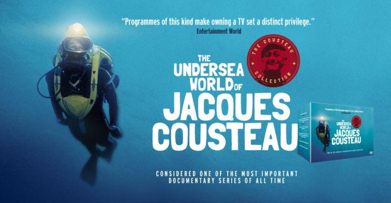Vintage video: I misteri delle scogliere nascoste di Jacques Cousteau