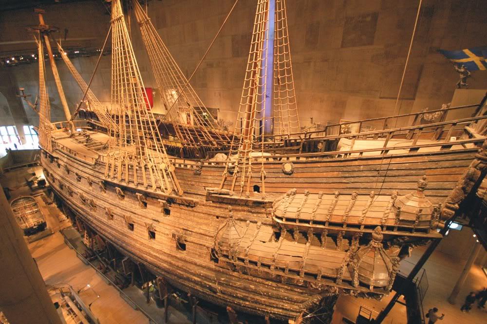 Vasa, storia del più grande galeone che navigò solo per poche miglia