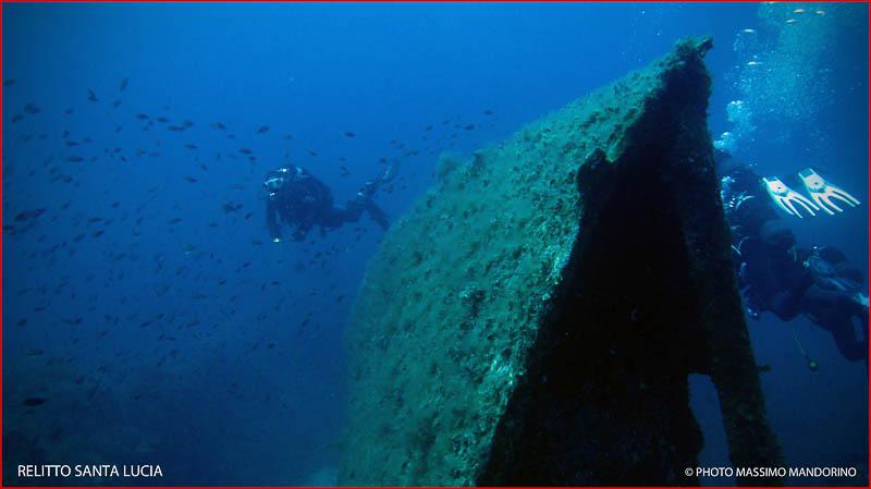 Il relitto del Santa Lucia, storia di una tragedia del mare di Andrea Mucedola