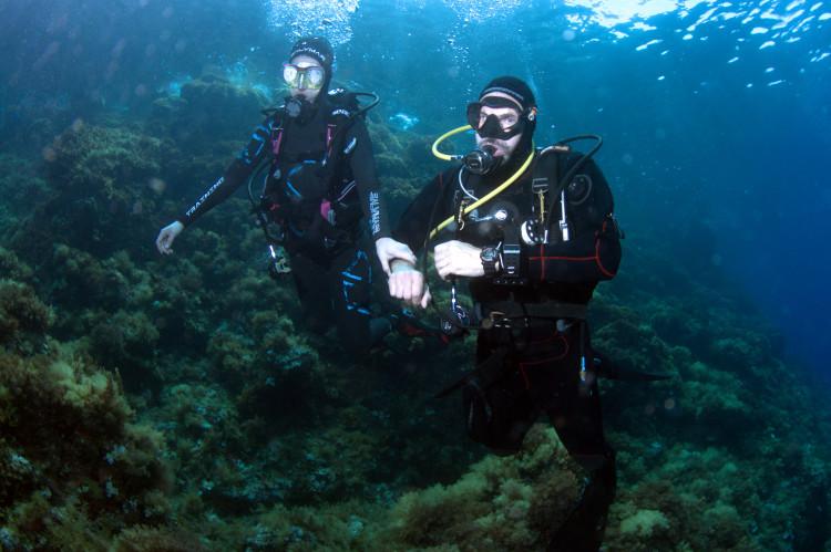 La fisica per i subacquei - forza e densità di Luca Cicali