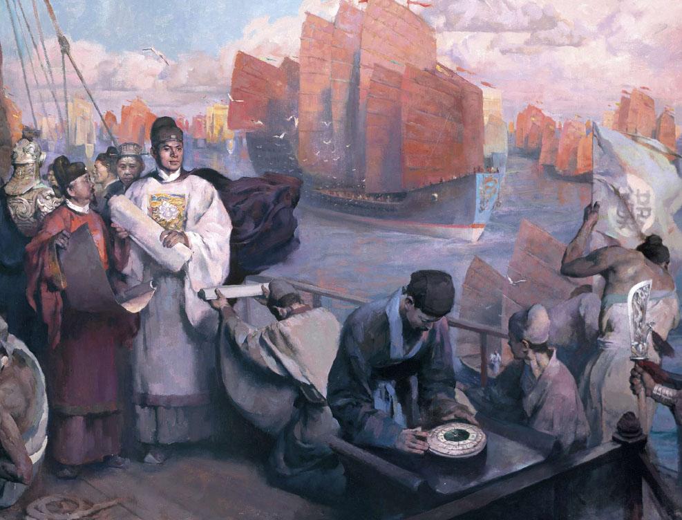 Zheng He, un grande ammiraglio cinese del XIV secolo