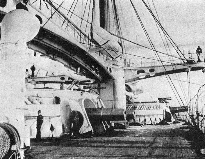 """Il Caio Duilio (1876) """"... la più potente nave da guerra che l'arte navale abbia mai espresso..."""""""