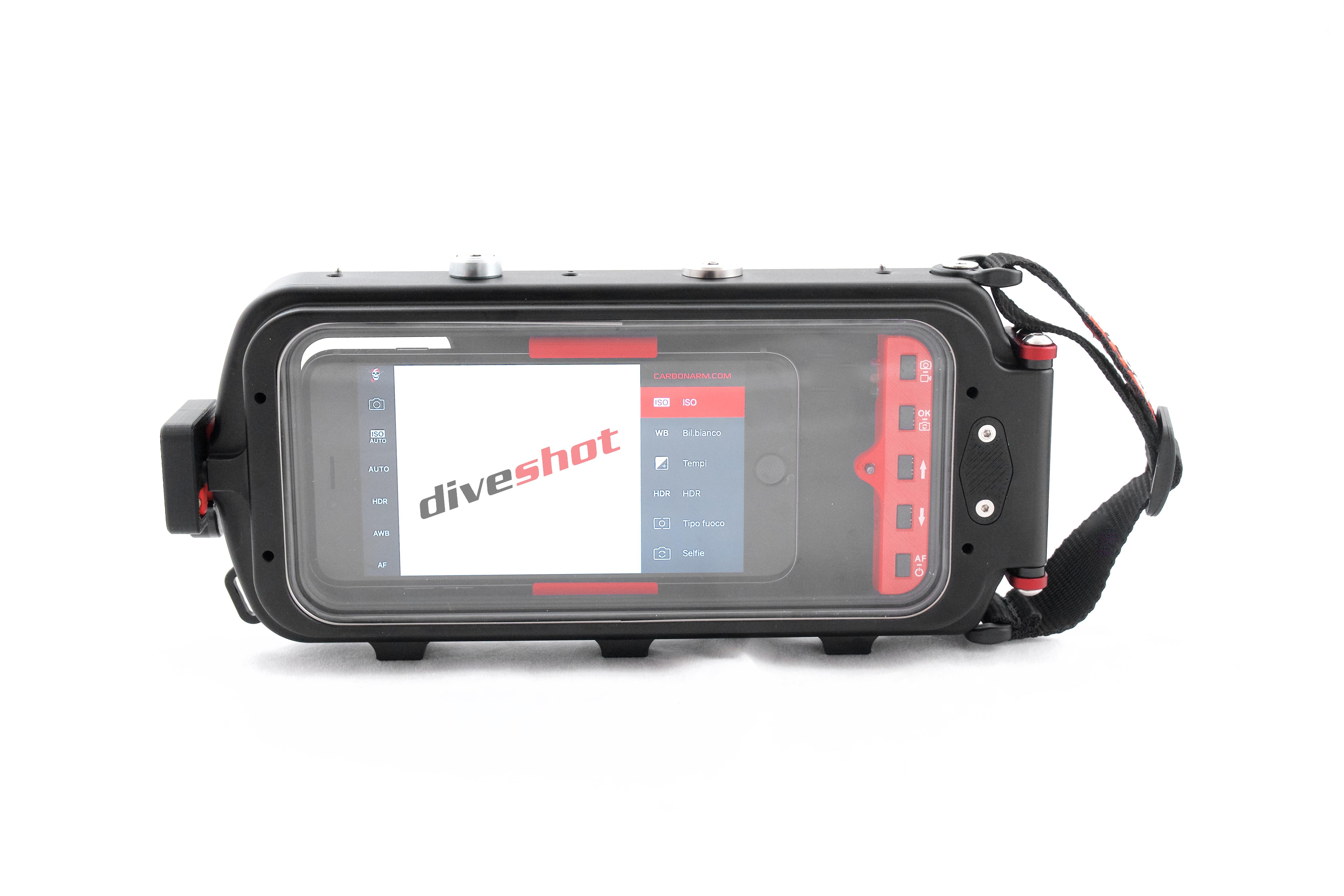 DIVESHOT,  ultima arrivata nella scuderia EASYDIVE - Carbonarm presentata al DEMA 2017