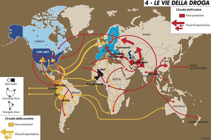 I mezzi subacquei dei narcotrafficanti internazionali: una lotta senza fine