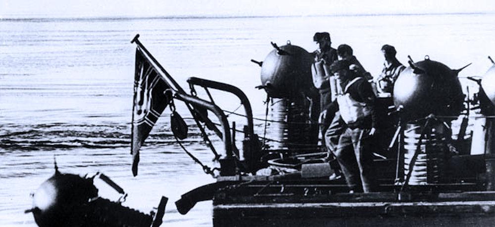 La storia delle mine navali, dalle origini ai giorni nostri – parte VI di Andrea Mucedola