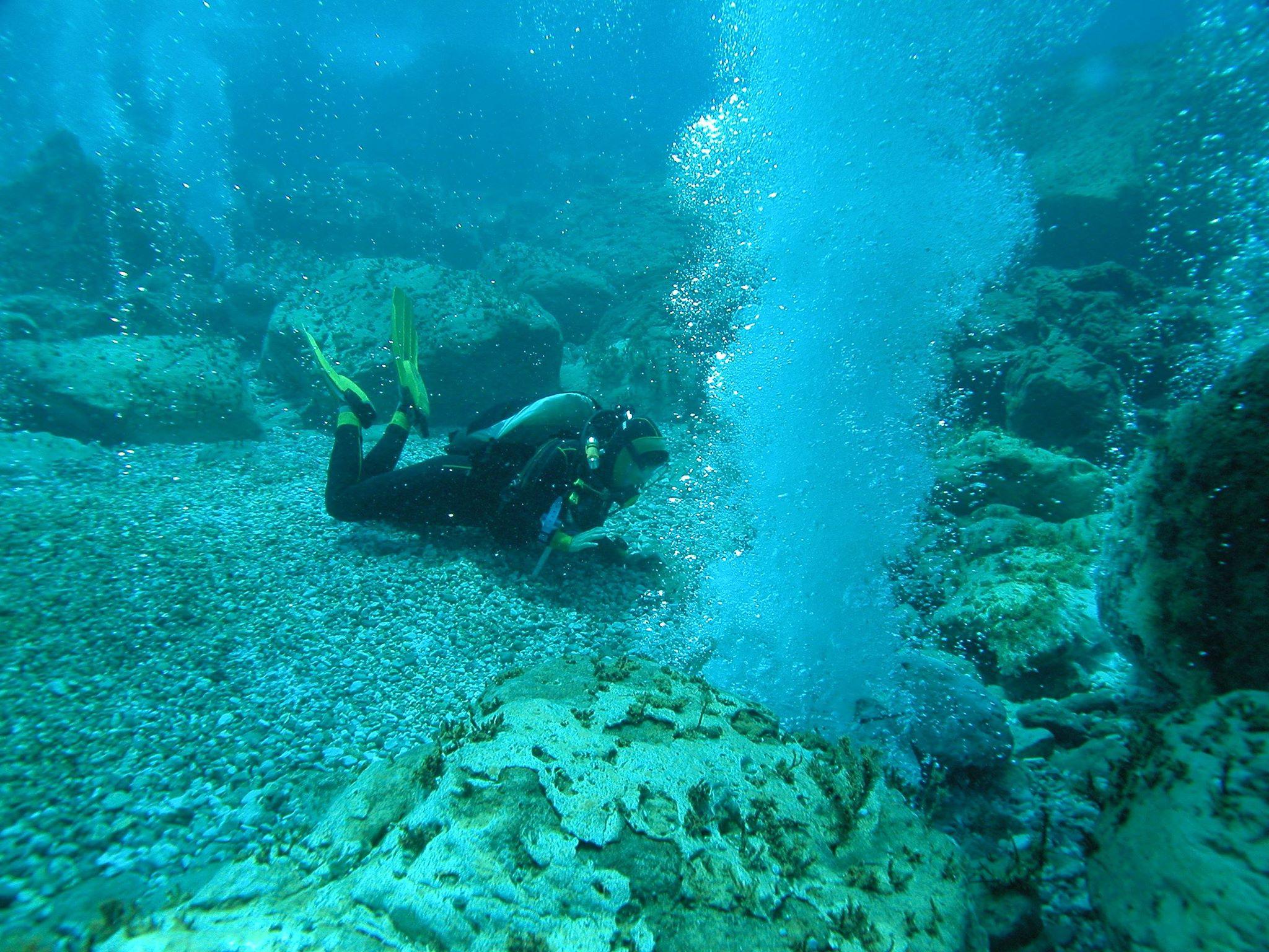 Emissioni gassose dal fondo del mare