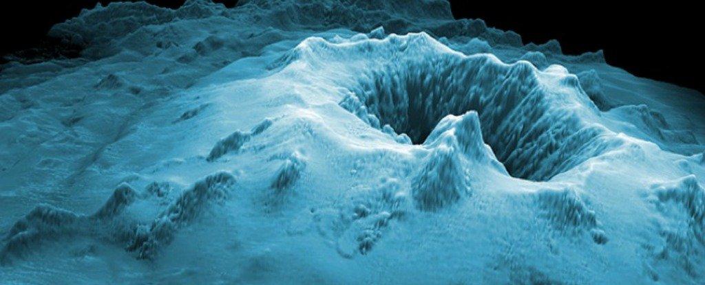 Scoperti gli esiti di una gigantesca eruzione nelle profondità dell'oceano al largo della Tasmania