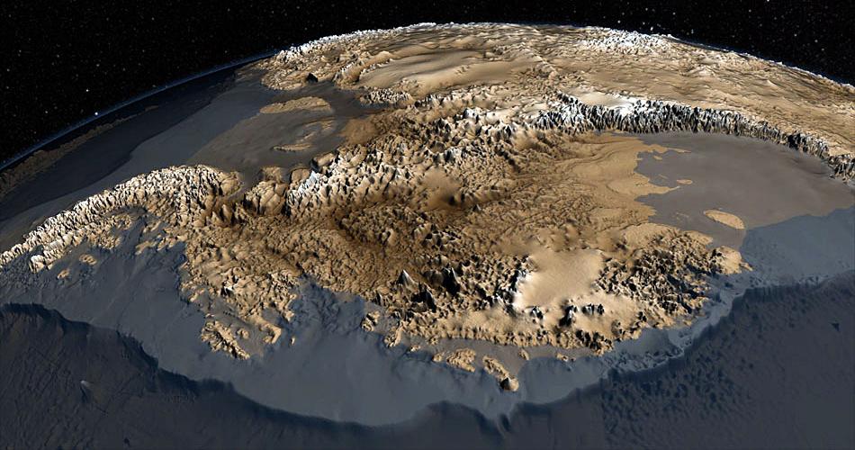 Antartide, pubblicato il primo modello ad alta risoluzione del continente Antartico