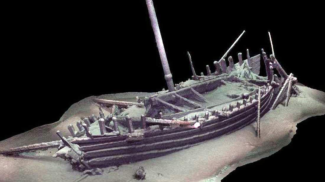 Scoperto in Mar Nero un relitto intatto di una nave del IV secolo avanti Cristo