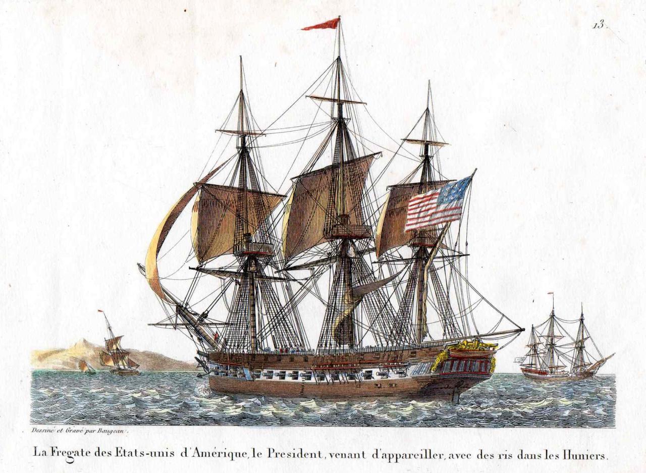 Le fregate, breve storia di un vascello di successo - parte I