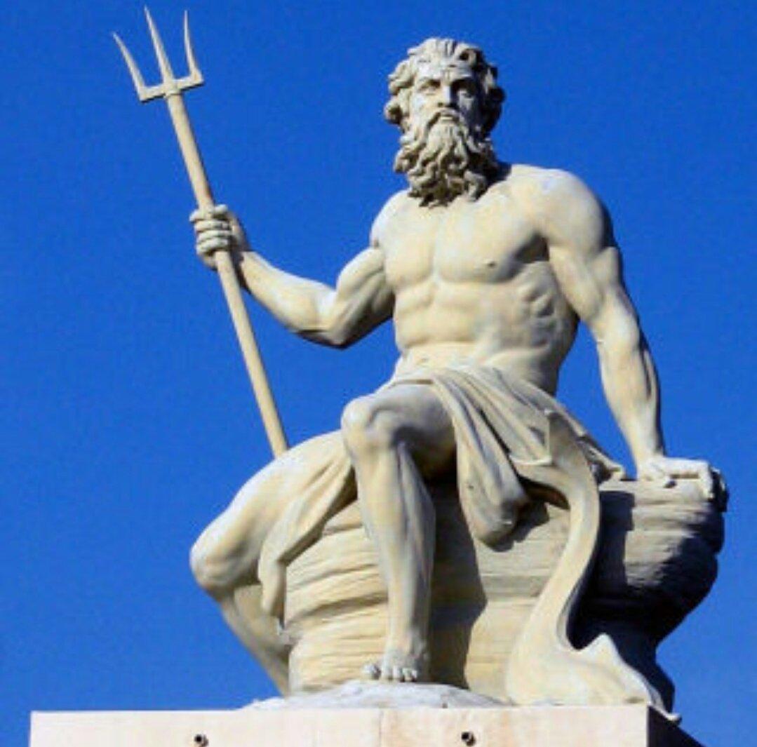 Poseidone, dio del mare di Andrea Mucedola