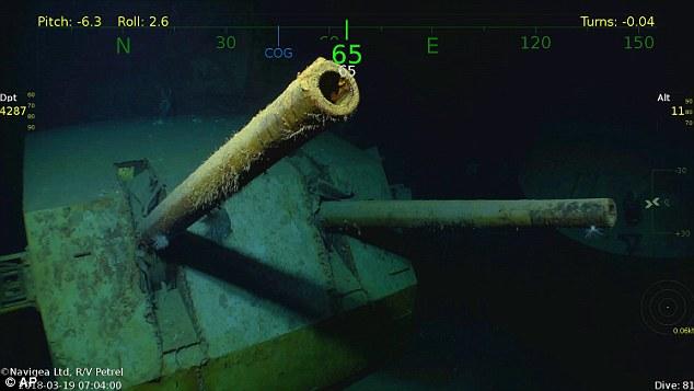 Relitti: Dopo 77 anni, ritrovata la portaerei USS Hornet sul fondo dell'oceano nei pressi delle Isole Salomone