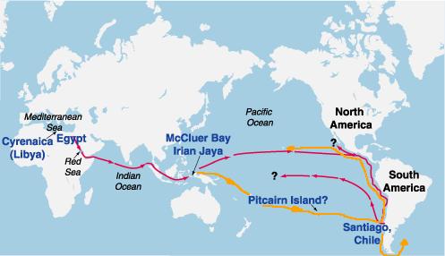 Maui e Rata, pionieri alla scoperta di un nuovo mondo o antichi discendenti di una civiltà scomparsa?
