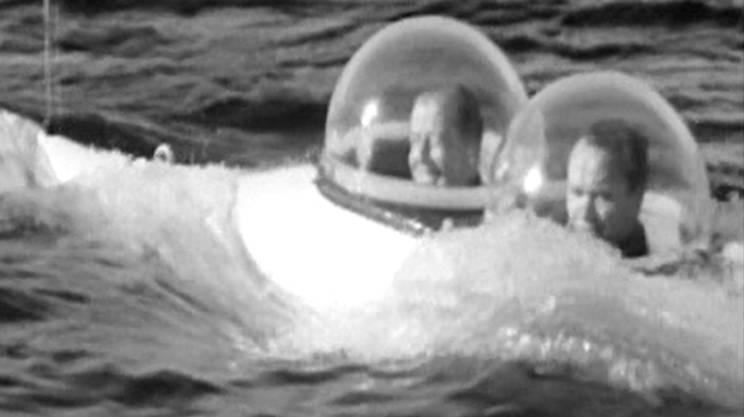 """1965, Il drammatico e misterioso affondamento del minisommergibile """"Squalo Tigre"""" nelle acque del Lago Maggiore"""