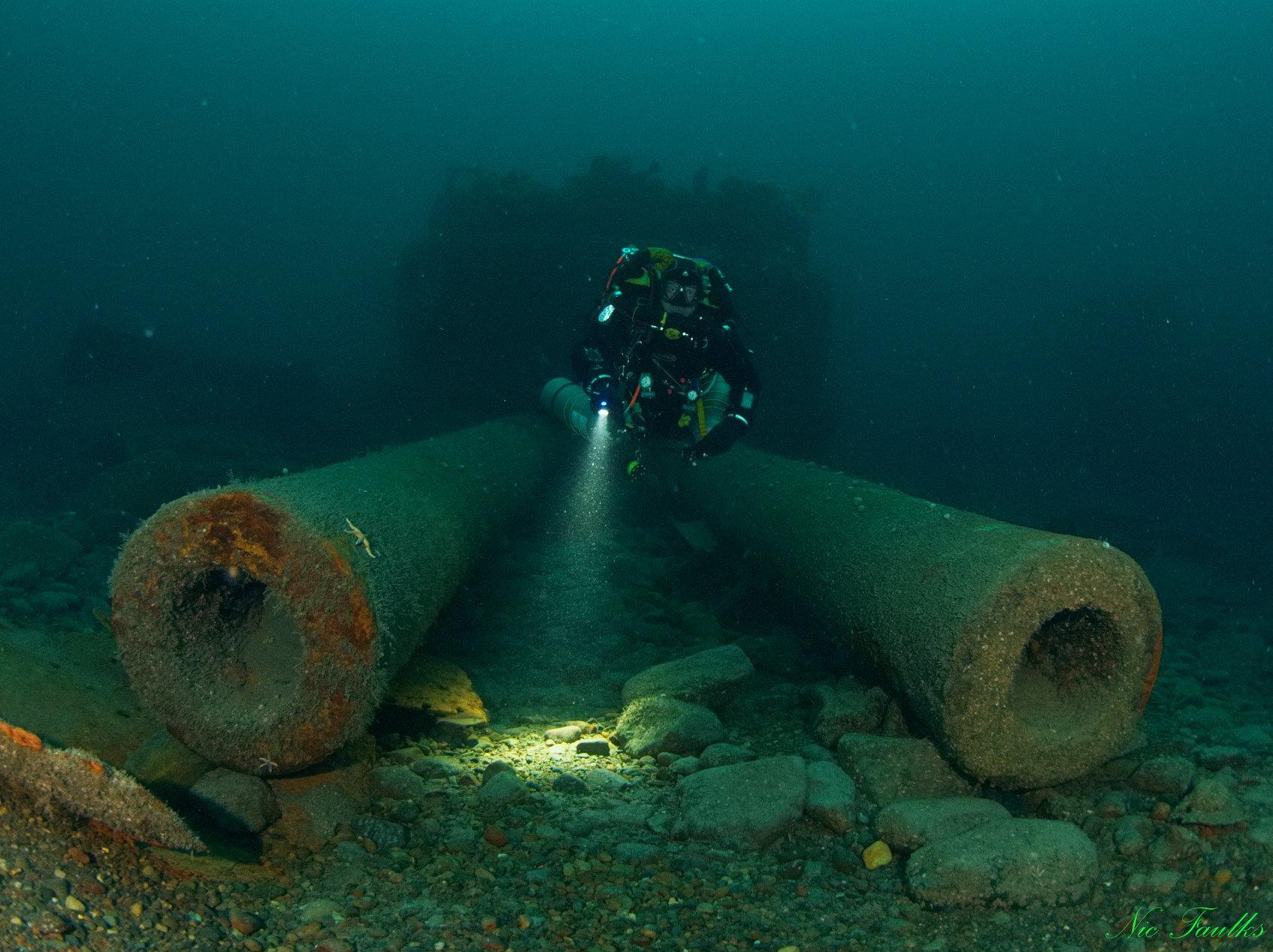 Ireland Wreck Tour HMS Audacious (-65 m) di Andrea Murdock Alpini