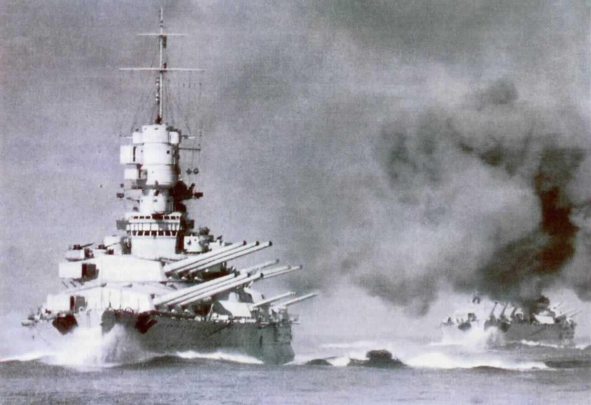 Il tiro navale nella Regia Marina - parte I