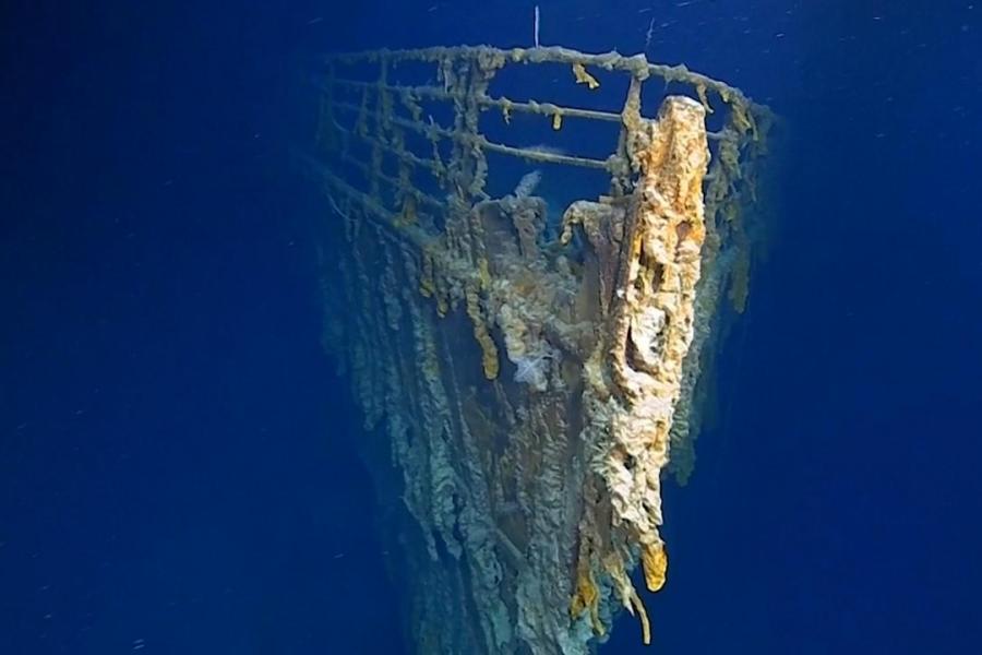 Nuove conferme sullo stato di salute del relitto del Titanic