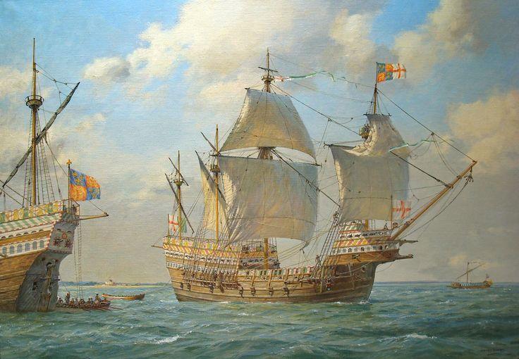 Il relitto della Mary Rose: una caracca del XVI secolo ci racconta la vita sulle navi di Enrico VIII
