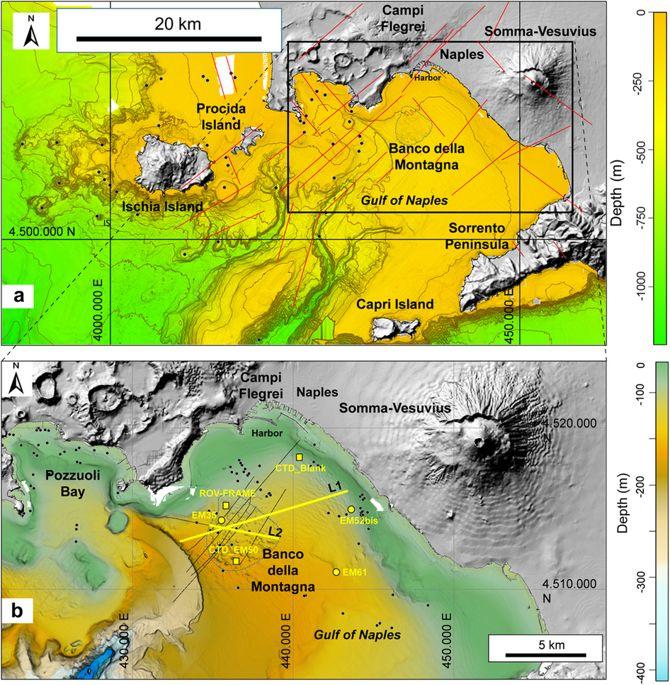 Cosa si nasconde nel mare del Golfo di Napoli? - articolo INGV