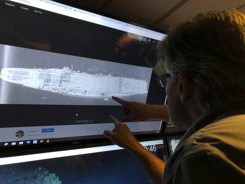 Ritrovata la portaerei nipponica Kaga sul fondo del Pacifico