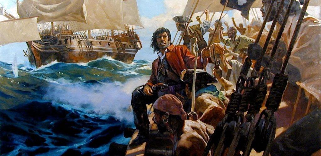 La storia del pirata Black Sam Bellamy di Aaronne Colagrossi