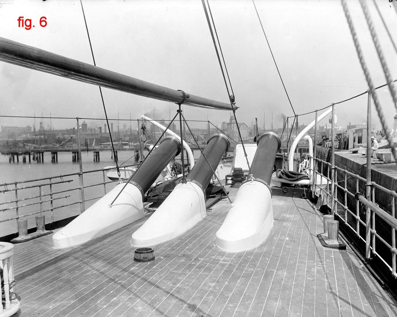 La US Navy e il cannone a dinamite Zalinsky