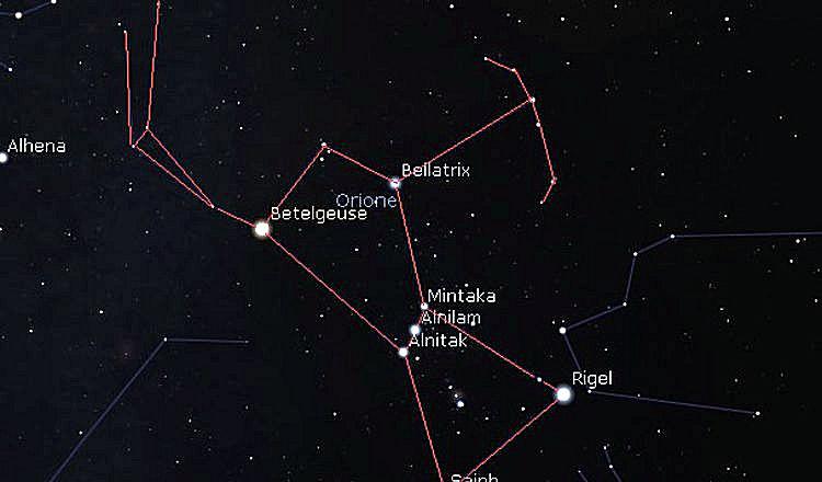 I tre magi e la cintura di Orione