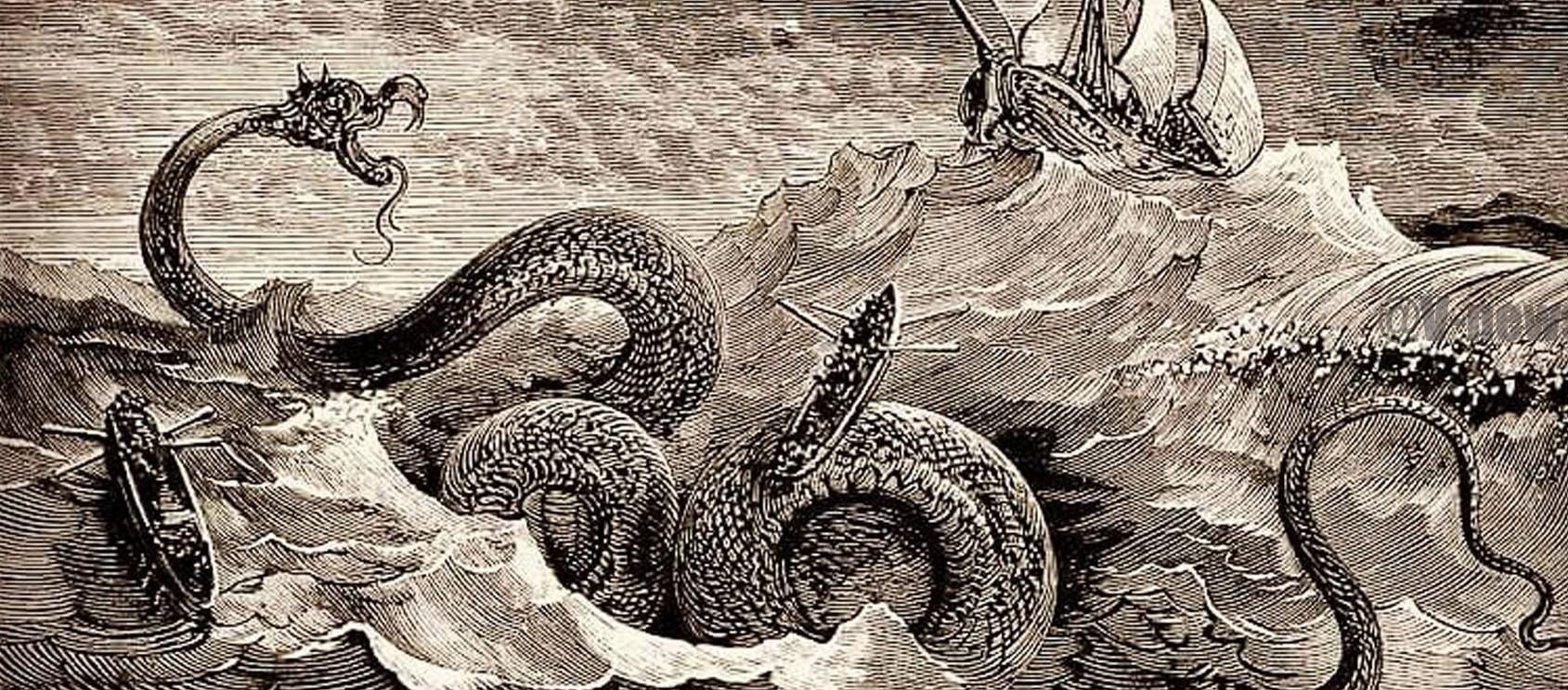 Miti e leggende: Leviatano, mostro degli abissi