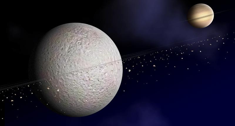 Viaggio nel sistema solare: le lune di Saturno