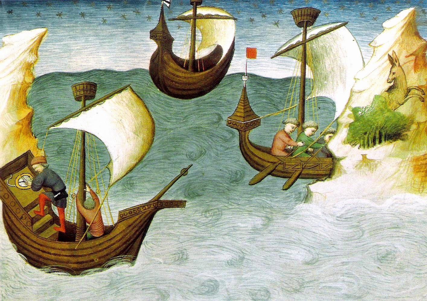 Medioevo Mediterraneo: reti commerciali e divisioni politiche nel Trecento attorno al 'Mare nostrum' di Nicola Carotenuto