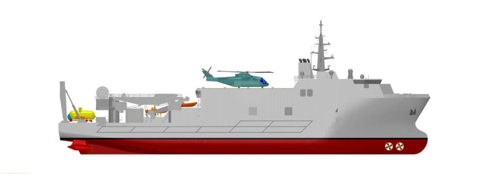 Forse ci siamo: è stata annunciata la nuova unità di supporto e salvataggio  sommergibili della Marina Militare italiana di Andrea Mucedola • Ocean 4  Future