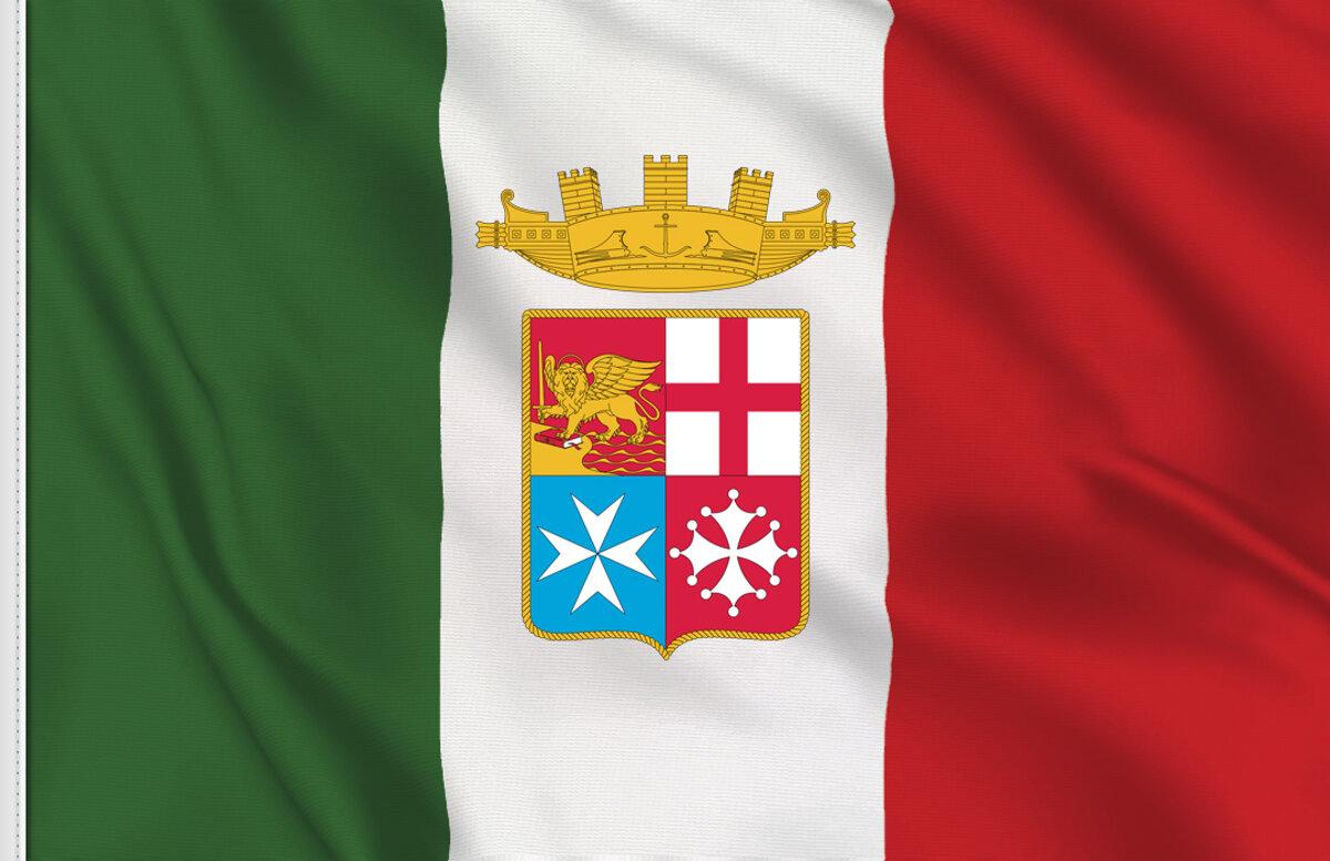 Le bandiere e le insegne della Marina Militare italiana