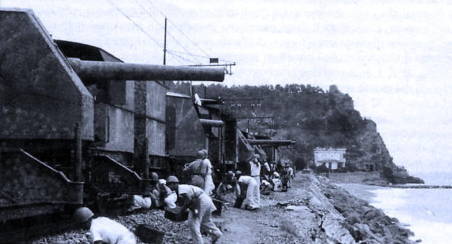 I treni armati della Regia Marina italiana tra le due guerre di Virginio Trucco